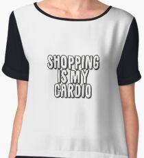 Shopaholic Women's Chiffon Top