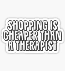 Shopping Sticker