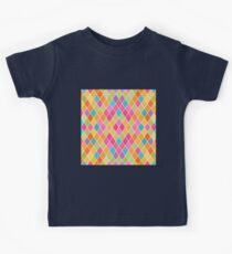 Colorful Geometric Background Kids Clothes