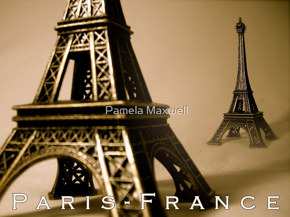 Paris France by Pamela Maxwell