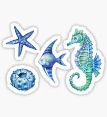 Under the sea sticker set Sticker