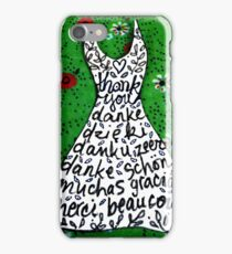 'thank you and gracias ...' iPhone Case/Skin