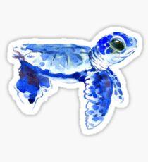 Baby sea turtle sticker Sticker