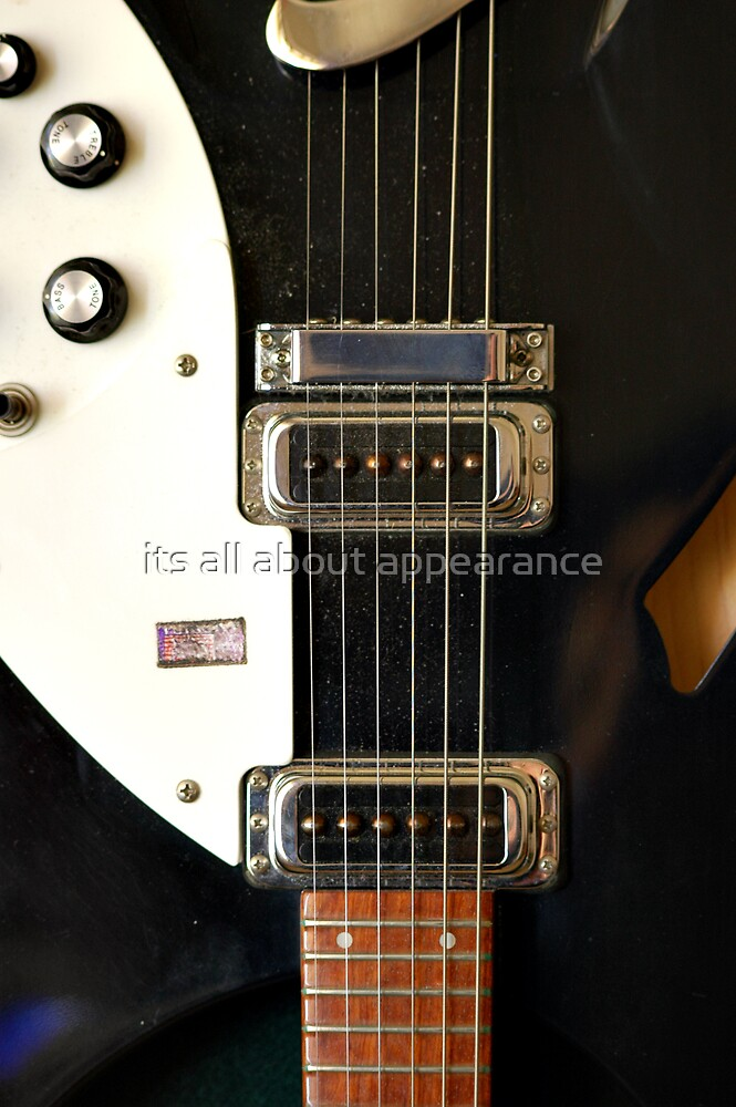 Rickenbacker Vintage PUs by its all about appearance