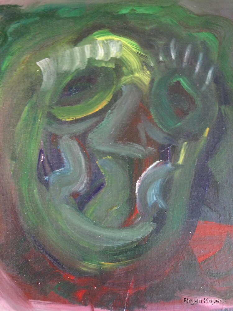 The Face #3 by Bryan Kopeck