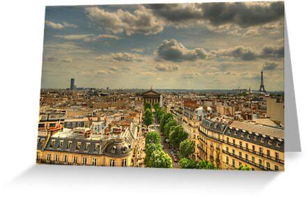 Paris Vista by Craig Goldsmith