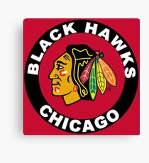 Chicago Blackhawks Canvas Print