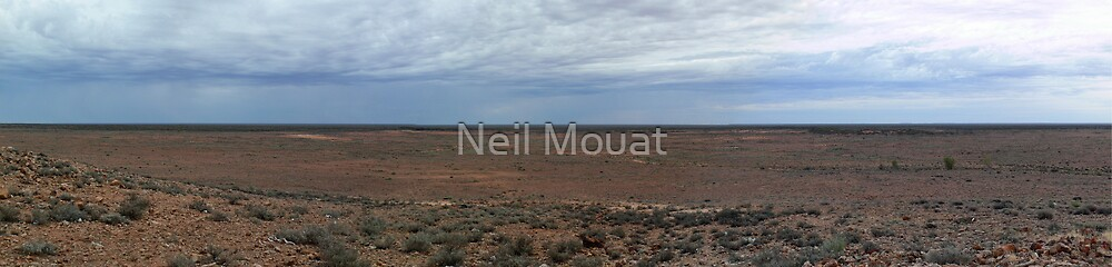Hard Country by Neil Mouat