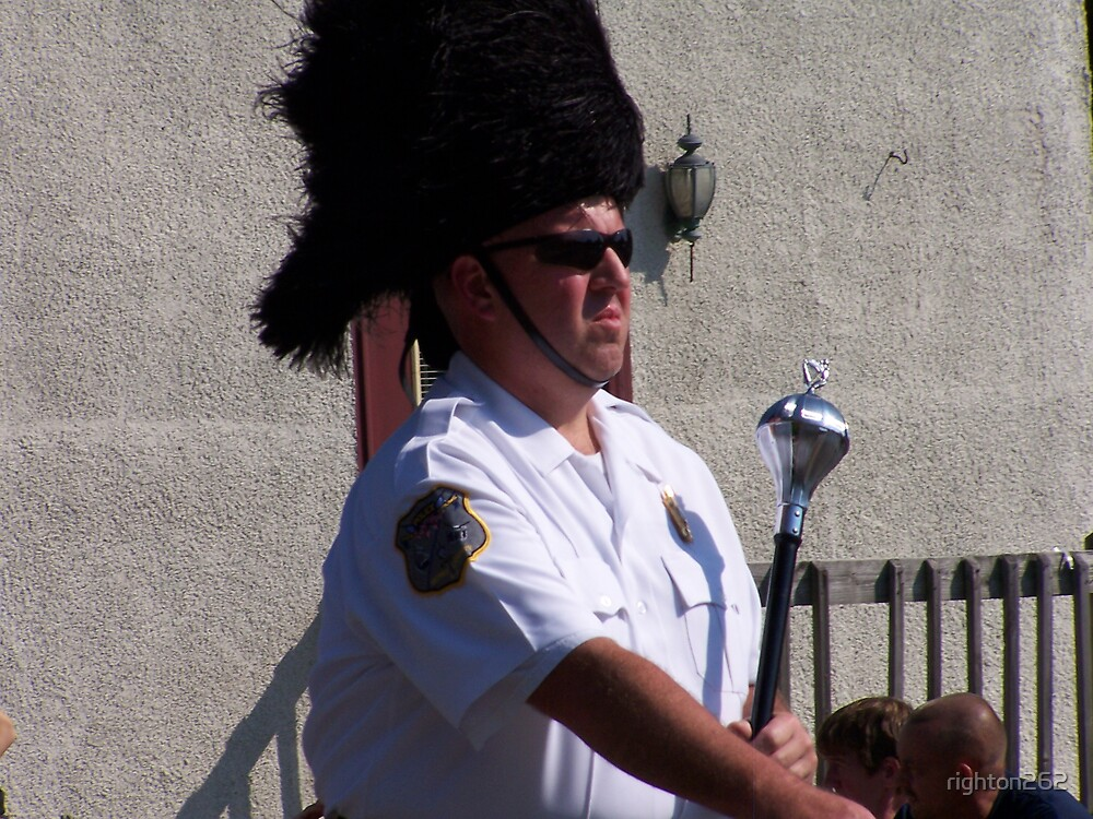 bagpipe leader by righton262