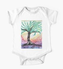Watercolour Olive Tree Kids Clothes