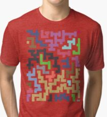 Colorful Maze III Tri-blend T-Shirt