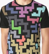 Colorful Maze III Graphic T-Shirt