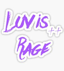 Lil Uzi Vert - Luv Is Rage  Sticker