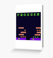 Frogger's Frustration - Devastation Greeting Card
