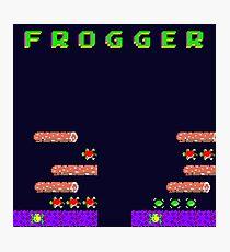 Frogger's Frustration - Devastation Photographic Print