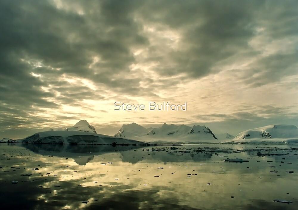 Antarctic Sunset by Steve Bulford
