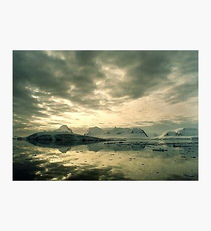 Antarctic Sunset Photographic Print