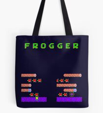 Frogger's Frustration 2 - Timing is Key Tote Bag