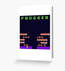 Frogger's Frustration 2 - Timing is Key Greeting Card