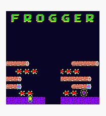 Frogger's Frustration 2 - Timing is Key Photographic Print