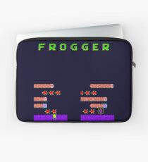 Frogger's Frustration 2 - Timing is Key Laptop Sleeve