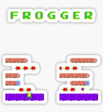 Frogger's Frustration 2 - Timing is Key Sticker