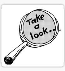 Take a look  Sticker