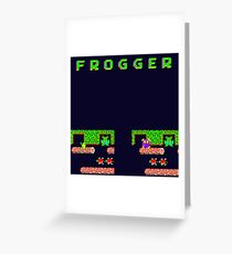 Frogger's Frustration 3 -  Only One More to Go Greeting Card