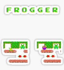 Frogger's Frustration 3 -  Only One More to Go Sticker