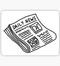 Daily news  Sticker