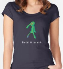 Bold & Brash- SpongeBob Women's Fitted Scoop T-Shirt