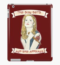 Buffy Lets Me Rest In Peace iPad Case/Skin