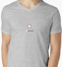 Duck Shoot Mens V-Neck T-Shirt