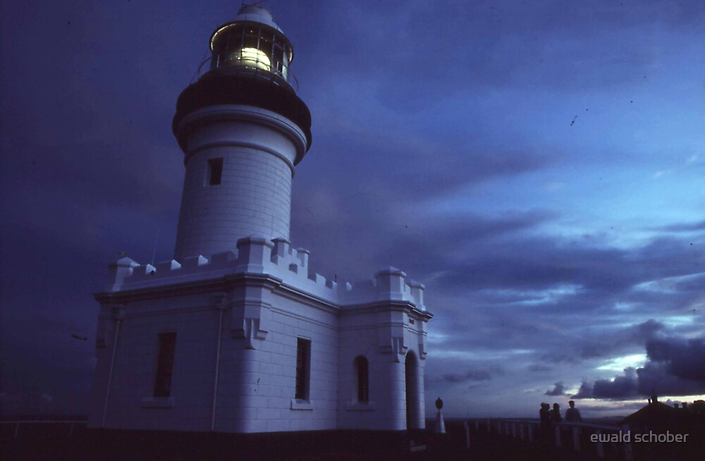 byron lighthouse by ewald schober