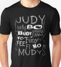 JUDY - The name game Remake White version Slim Fit T-Shirt