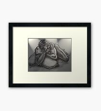 David - 20 min study Framed Print