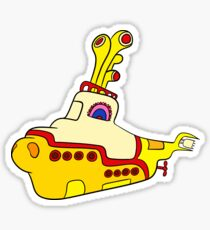 Yellow Submarine Sticker