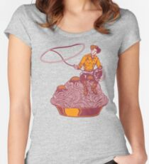 Spaghetti Western Women's Fitted Scoop T-Shirt