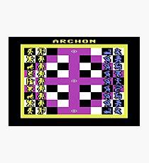 Archon - Board Photographic Print