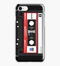 Retro music cassette iPhone Case/Skin