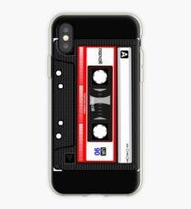 Vinilo o funda para iPhone Casete de música retro