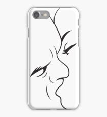 Lover Lineart iPhone Case/Skin