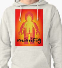 Colored Minifigs  Pullover Hoodie