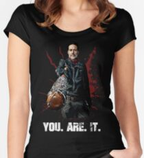 The Walking Dead - Negan Women's Fitted Scoop T-Shirt