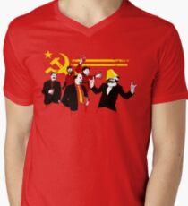 The Communist Party (original) Men's V-Neck T-Shirt