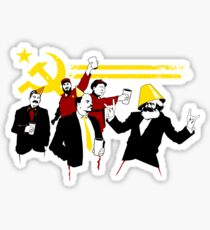 The Communist Party (original) Sticker