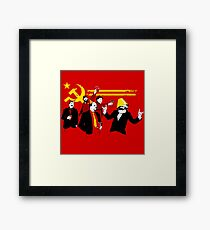 The Communist Party (original) Framed Print