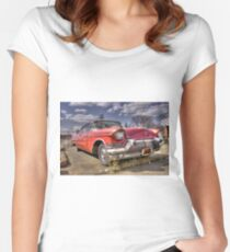 Classic Cadillac  Women's Fitted Scoop T-Shirt