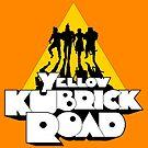 Yellow Kubrick Road by Tom Burns
