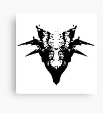 Revered Dragon Skull Canvas Print